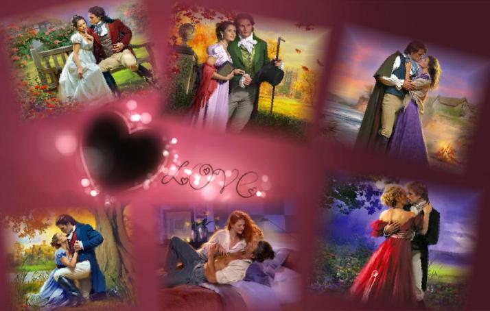 Мои коллажи ко Дню Святого Валентина